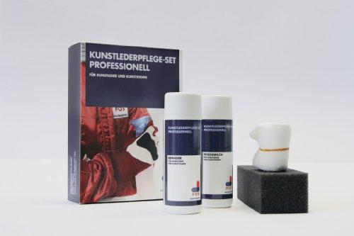 POS Kunstlederpflege-Set Professionell für Ihr Sofa, 2×150 ml