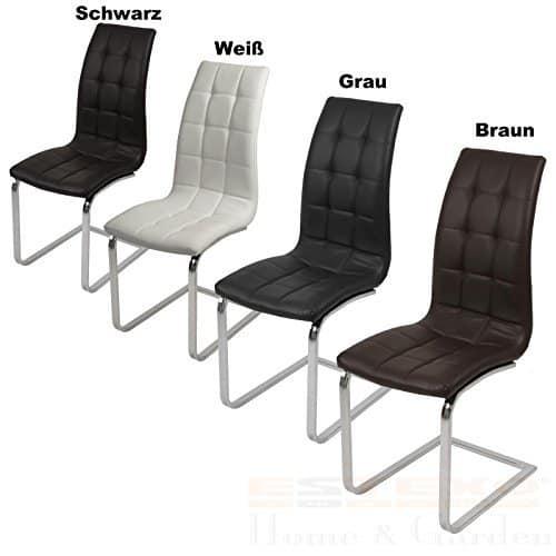 4er Set Schwingstuhl – Farbe wählbar